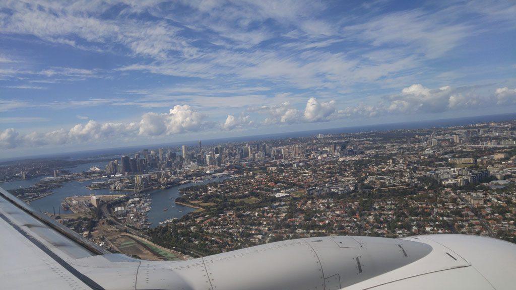 Qantas Business Class Lounge Sydney International