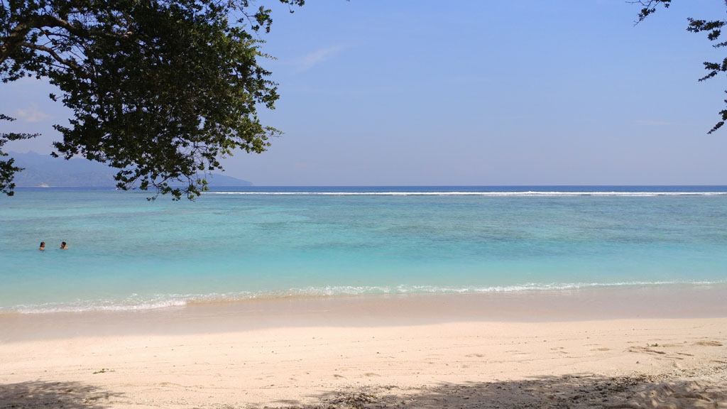 Gili Trawangan beach with clear waters Best Islands in Indonesia to visit