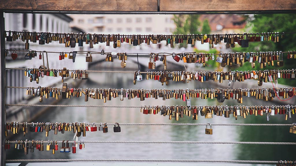 lovelocks-bridge things to do in -Ljubljana