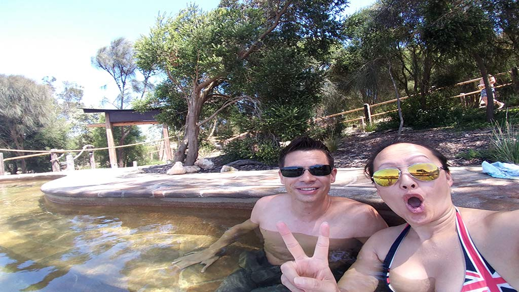 Peninsula Hot Springs near Melbourne indulge relax and rejuvenation