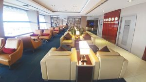 Emirates Business Class Lounge KL