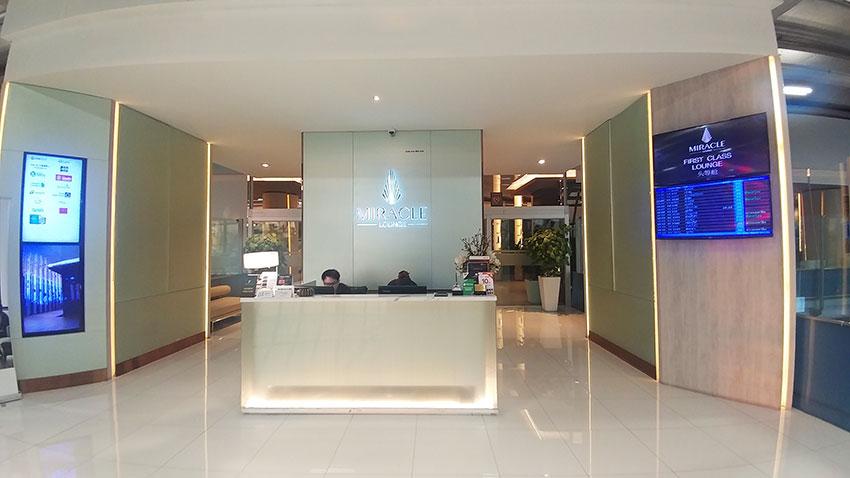Bangkok Miracle First Class Lounge
