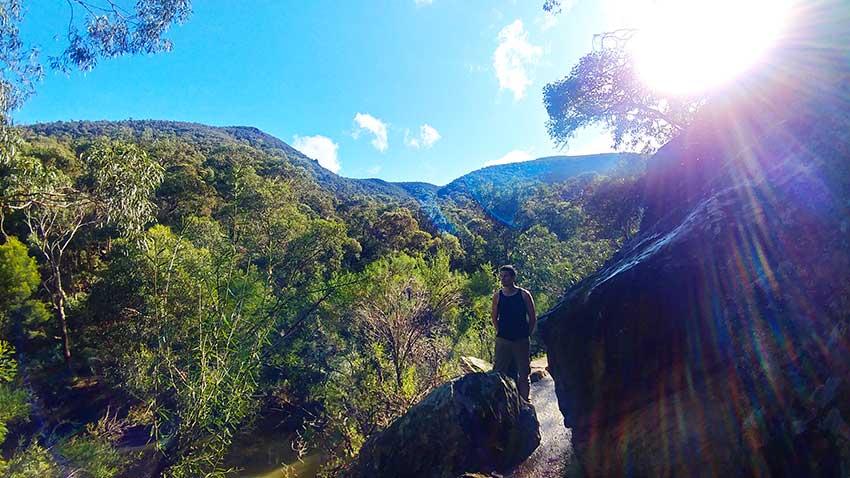 Grahams Dam walk Lerderberg State Park