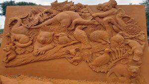 Phillip Island Sand Sculpture