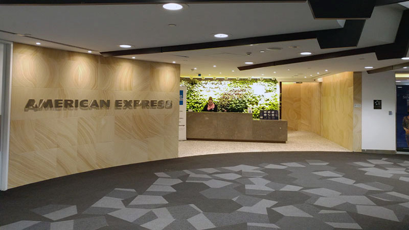American Express Lounge Melbourne Airport Review 1