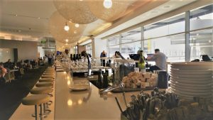 Qantas Club Melbourne Domestic Business Class Lounge Review 3