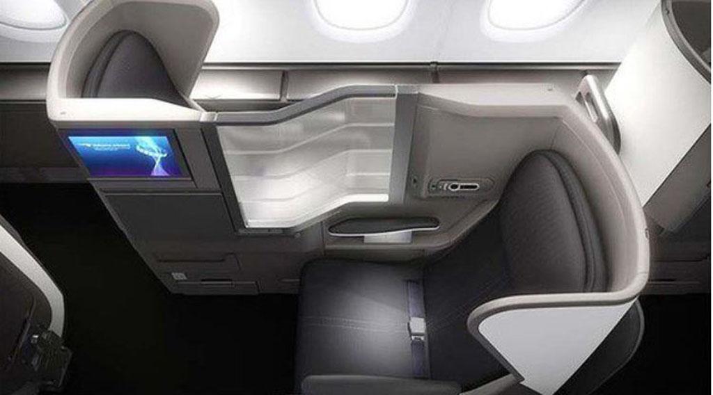 British Airways A380 business class 1